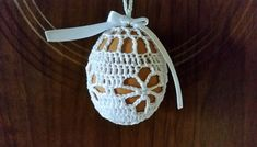 Easter Crochet, Crochet Lace, Crochet Hooks, Free Crochet, Easter Crafts, Happy Easter, Smocking, Easter Eggs, Tatting