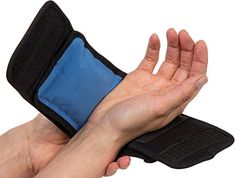 Amazon.com: NatraCure® Cold/Hot Therapy Wrap (Hand, Foot, Wrist, Elbow) (FBA715 CAT): Health & Personal Care