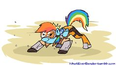 rainbow dash as tracer My Little Pony Drawing, Mlp My Little Pony, Overwatch, Mlp Pony, Pony Pony, Imagenes My Little Pony, Little Poni, Mlp Comics, Cartoon Crossovers