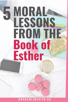 Esther Bible Study for Women. 5 Moral Lessons From the Book of Esther. Tips from the book of Esther. Esther Bible Study, Book Of Esther, Bible Study Lessons, Bible Study Plans, Online Bible Study, Scripture Study, Bible Topics, Bible Resources, Small Group Bible Studies