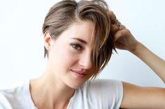 Just got my hair cut like this! If you're thinking about a pixie, then just go for it. So easy to manage and style.