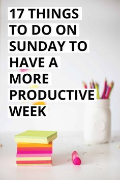 The Sunday blues are a real thing, but Sunday can also be a great day to plan for a productive week while also making some time to relax. In this post I'm sharing 17 productive things to do on Sunday to have an amazing week! // The Refined Revelry -- Productive Things To Do, Productive Day, Deep Cleaning Tips, Cleaning Hacks, Fitness Workouts, Mental Training, Productivity Hacks, How To Stop Procrastinating, Time Management Tips