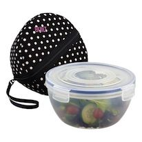 Bento Salad Bowl, $21.99 Bento Store, Adult Lunch Box, Eat Lunch, Lunch Containers, I Love Food, Good Food, Container Store, Bento Box, Salad Bowls
