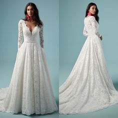 Cute Wedding Dress, Wedding Bridesmaid Dresses, Dream Wedding Dresses, Wedding Attire, Wedding Gowns, Long Sleeve Bridal Dresses, Bridal Gowns, Wedding Wishes, Wedding Inspiration