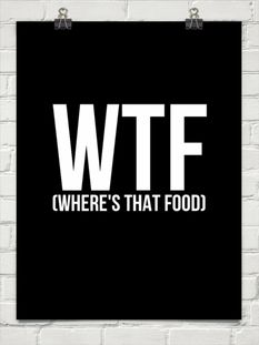 wtf (where's that food)