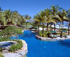 Pan Pacific Nirwana Bali Resort - look at all that beautiful blue