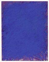 Carl Buchleister (1890-1964) Komposition in Blau und Violett, 1964