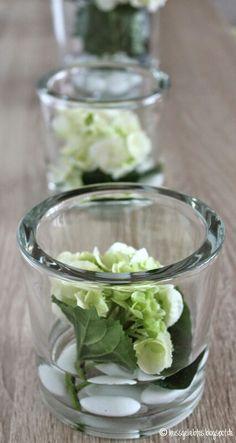 www.heissgeliebtes.blogspot.de  Blumen Deko Hortensien Wohnen Flower deco living home diy