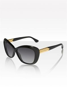 David Yurman | Women | Eyewear: Chevron, Black Onyx