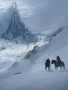 Fall of Gods: Vali & Jotunn at the Lands of the Aesir (by Rasmus Berggreen)