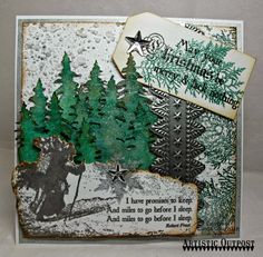 Stamps - Artistic Outpost Snowy Woods