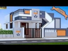 30 Beautiful Small House Front Elevation Design 2019 / Ground Floor Elevation Ideas - Decor Tips 2019 House Front Wall Design, Brick House Designs, House Main Gates Design, Single Floor House Design, Village House Design, Duplex House Design, Simple House Design, House Design Photos, Cool House Designs