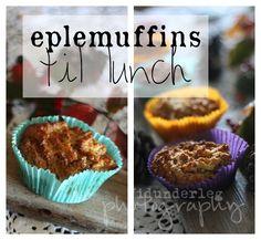 Vidunderleg: Eplemuffins x2