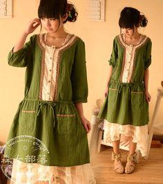 #mori, #morikei, #forestgirl, #naturalkei     http://item.taobao.com/item.htm?spm=a1z10.1.w783164989.1.Vtkt1e=19164763797