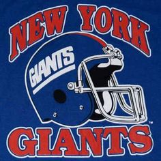 da4fb5d7d6767 Vintage New York Giants Football t-shirt design.