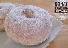 Ideas Baking Donuts Recipe Sweets For 2019 Easy Cookie Recipes, Donut Recipes, Sweet Recipes, Baking Recipes, Dessert Recipes, Indonesian Desserts, Asian Desserts, Delicious Donuts, Bread Cake