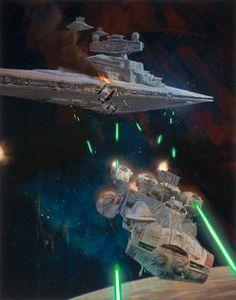 Star Wars: Rebel Blockade Runner, Dave Seeley on ArtStation at https://www.artstation.com/artwork/star-wars-rebel-blockade-runner