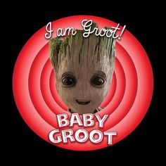 Guardians Of The Galaxy Baby Groot Looney Tunes