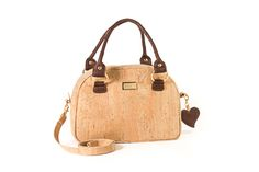 Cork bag BRUXELLES Natural Wood