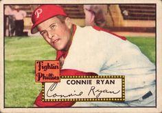 Cornelius Joseph Ryan (February 27, 1920 – January 3, 1996) played in MLB from 1942-1954 for the New York Giants, Boston Braves, Cincinnati Reds, Philadelphia Phillies, Chicago White Sox and Cincinnati Red Legs. Jesuit High School alum.