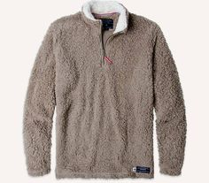 The Appalachian Pile Pullover was created after one of the Southern Marsh productdevelopers took a six month break to pursue his dream of hiking the Appalachia