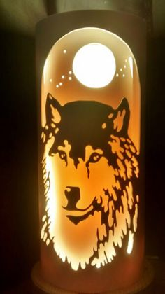 Wolf from Tique lights