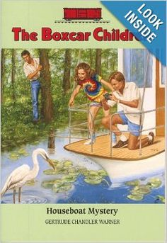 Houseboat Mystery (The Boxcar Children Mysteries #12): Gertrude Chandler Warner, David Cunningham: 9780807534137: Amazon.com: Books