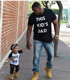 This Kid's Dad or Mom With Matching Child's Tee.- FREE USA SHIPPING https://executees.net/products/this-kids-dad-or-mom-t-shirt