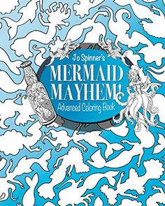 27 Best Mermaid Adult Coloring Books Images Coloring Pages