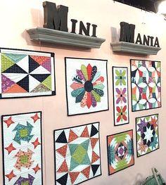 Mini Mania Quilt Wall