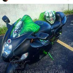 Rekairbrush Custom Airbrushed Motorcycle Helmet 64