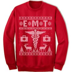 EMT Ugly Christmas Sweater.