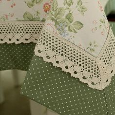 Online Shop Elegant home textile lace tablecloth table cloth knitting dining table cover knitting banquet kitchen wedding table cloth Sewing Hacks, Sewing Crafts, Sewing Projects, Hand Embroidery, Embroidery Designs, Table Covers, Table Linens, Home Textile, Tea Towels