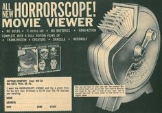 Ad from the back of 'Famous Monsters' magazine