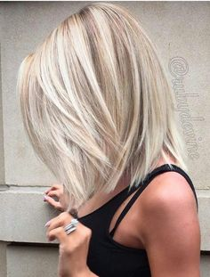 Hair Color Trends 2018 Highlights : 17 Popular Medium Length Hairstyles for Those With Long Thick Hair See Hair Color And Cut, Short Hair Styles, Blonde Hair Styles Medium Length, Thick Hair Styles Medium, Shoulder Length Blonde Hairstyles, Cute Hair Cuts Medium, Medium Blonde Hairstyles, Hairstyles For Medium Length Hair With Layers, Shoulder Length Hair Cuts With Layers