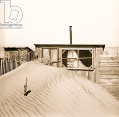 Sand Duned Home on the Once Great Plains 1936 (photo)