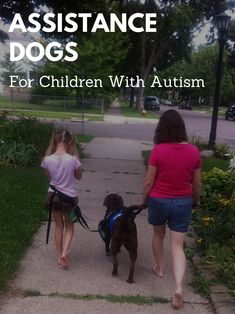 Benefits of Assistance Dogs for Children With Autism Spectrum Disorder. Many countries, including America, Canada, UK, and Australia have organisations that train and provide assistance dogs for children with autism.