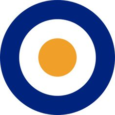 SAAF: The South African Air Force Roundel used between Outer ring = blue; inner circle = orange The colours of the, then Union of South Africa flag. Union Of South Africa, North Africa, South African Air Force, Africa Flag, Air Force Aircraft, Inner Circle, Aircraft Design, Royal Air Force, Aviation Art