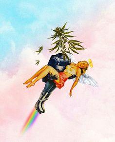 Folk Art Flowers, Flower Art, Aesthetic Grunge Tumblr, Aesthetic Anime, Weed, Fanart, Psy Art, Hippie Art, Retro Art
