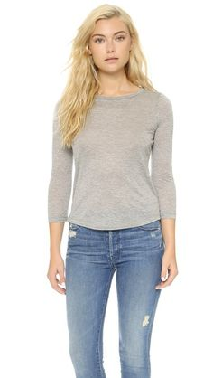 MADE IN USA - J Brand Eniko Long Sleeve T-Shirt