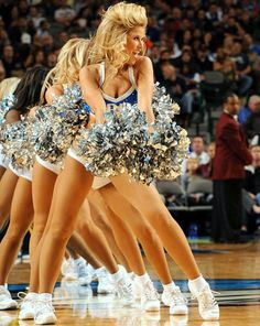 Dallas Mavericks Dancers! ❤