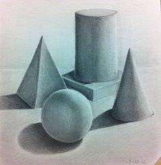 Primer dibujo a lápiz .Inicios