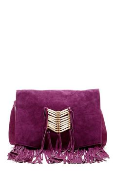 LOOOVE Fringe, LOOOVE Purple - this has my name on it! Fringe Messenger Bag