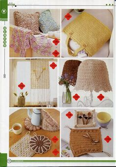 crafts for home: cute dishcloths, free crochet pattern - crafts ideas - crafts for kids