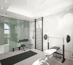 31 mejores im genes de ideas para instalar un gimnasio en casa - Gimnasios en casa ...
