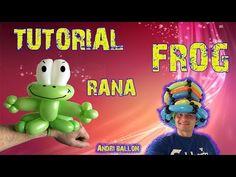 PALLONCINI MODELLABILI tutorial 5 braccialetto RANA FROG - YouTube