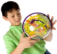 Perplexus and thousands more of the very best toys at Fat Brain Toys. Clearly enticing, mentally stimulating, and often wrestled over - Perplexus is a brainteaser like few others. Turn, angle, and balance the whole thing to keep the metal sphere on track!