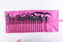 Frete grátis Top Quality cabelo sintético barato ferramentas de cosméticos 24 Pcs pincéis de maquiagem profissional definida For Fashion Beauty(China (Mainland))