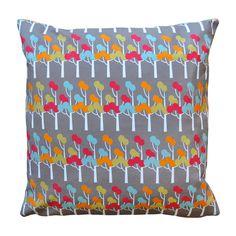 Pages Lane Pattern Cushion - Bubble Tree Design Studio