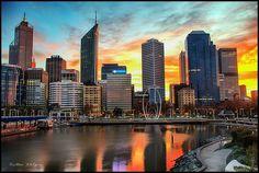 Elizabeth Quay Sunrise, Perth